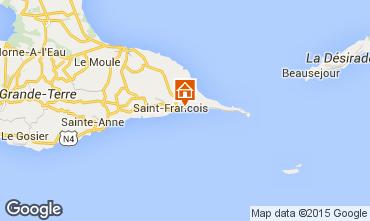 Mapa Saint Francois Apartamentos 39298