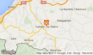 Mapa Cambo les Bains Apartamentos 101386