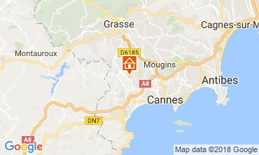 Mapa Mandelieu la Napoule Casa 112877