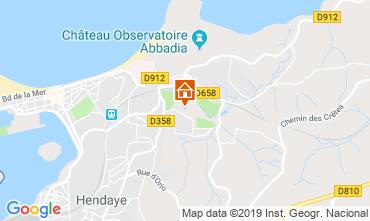 Mapa Hendaye Apartamentos 108148