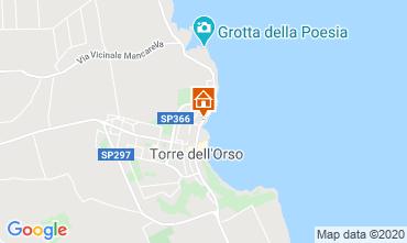 Mapa San Foca Apartamentos 118770