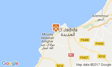 Mapa El Jadida Apartamentos 55918