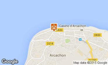 Mapa Arcachon Apartamentos 61328