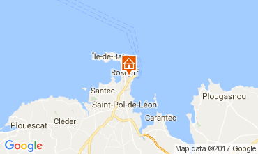 Mapa Roscoff Casa 108169