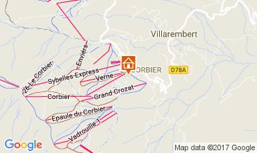 Mapa Le Corbier Estúdio 102014