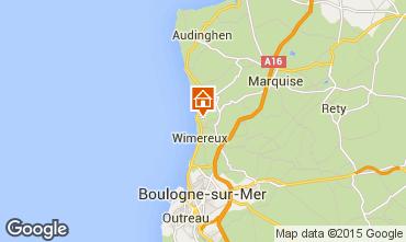 Mapa Wimereux Casa 99112