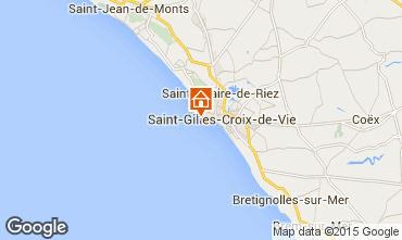 Mapa Saint Hilaire de Riez Estúdio 22393