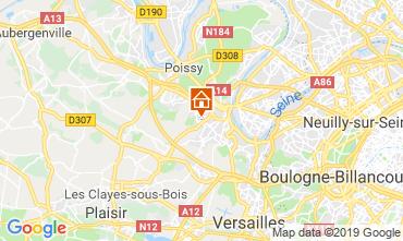 Mapa Saint-Germain-en-Laye Casa 119509