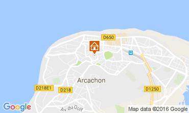 Mapa Arcachon Casa 86854