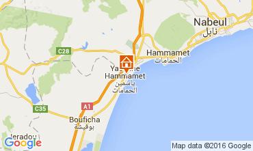 Mapa Hammamet Apartamentos 9929
