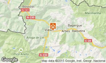 Mapa Baqueira-Beret Apartamentos 39972