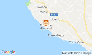 Mapa Ugento - Torre San Giovanni Apartamentos 116277
