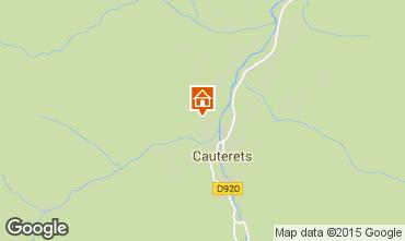 Mapa Cauterets Apartamentos 4090
