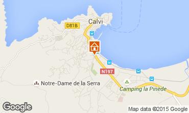 Mapa Calvi Apartamentos 96733