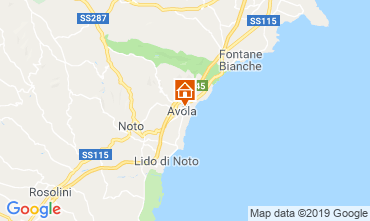 Mapa Avola Casa 118643