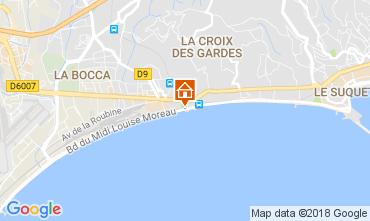 Mapa Cannes Apartamentos 68698
