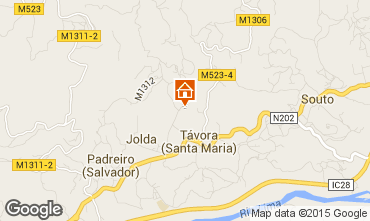 Mapa Arcos de Valdevez Casa de turismo rural/Casa de campo 72429
