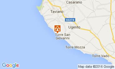 Mapa Ugento - Torre San Giovanni Estúdio 105887