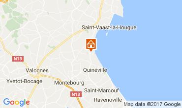 Mapa Saint Vaast la Hougue Casa 110426