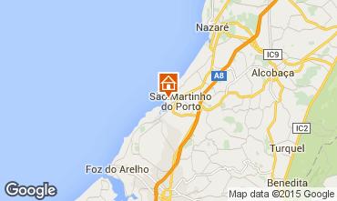 Mapa São Martinho do Porto Apartamentos 63817