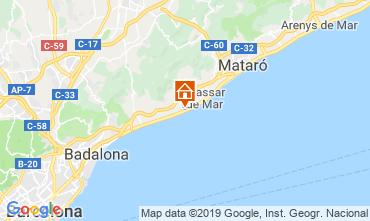 Mapa Barcelona Apartamentos 117575