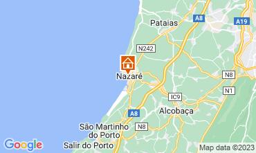 Mapa Nazaré Apartamentos 71878