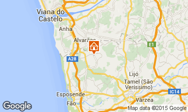 Mapa Barcelos Casa de turismo rural/Casa de campo 49359