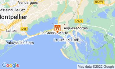 Mapa La Grande Motte Estúdio 88600