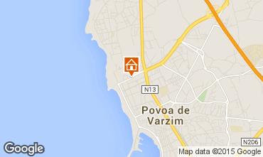 Mapa P�voa de Varzim Apartamentos 101362