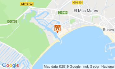 Mapa Rosas Apartamentos 8285
