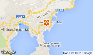 Mapa Beaulieu sur Mer Apartamentos 102978