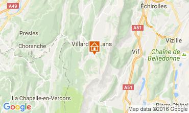Mapa Villard de Lans - Corrençon en Vercors Estúdio 74588