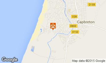 Mapa Capbreton Apartamentos 39273