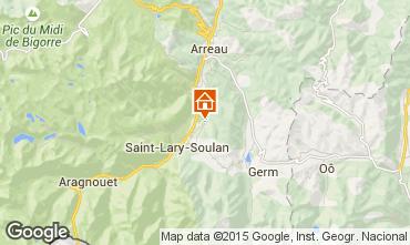 Mapa Saint Lary Soulan Casa de turismo rural/Casa de campo 80216