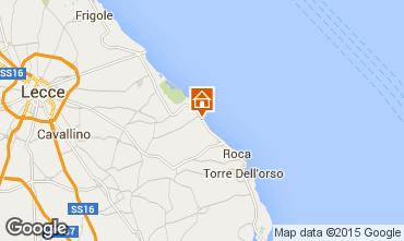 Mapa San Foca Vivenda 85195