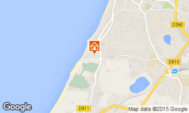 Mapa Biarritz Apartamentos 93340