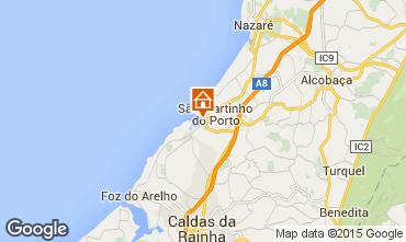 Mapa São Martinho do Porto Apartamentos 17185