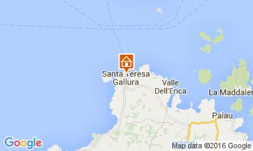Mapa Santa Teresa di Gallura Apartamentos 105883