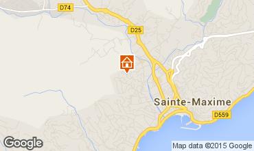 Mapa Sainte Maxime Estúdio 73333