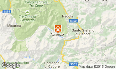 Mapa Auronzo di Cadore Apartamentos 95424
