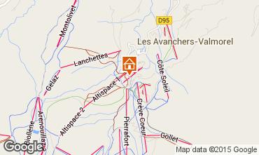 Mapa Valmorel Apartamentos 16095