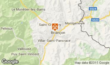 Mapa Briançon Apartamentos 81119