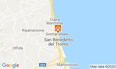 Mapa Grottammare Apartamentos 83988