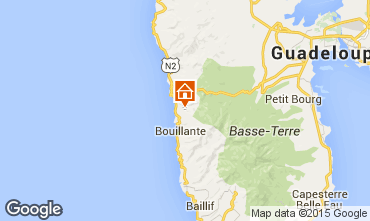 Mapa Bouillante Casa de turismo rural/Casa de campo 100331