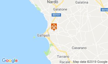 Mapa Gallipoli Vivenda 118430