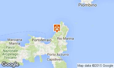 Mapa Rio nell'Elba Apartamentos 77662