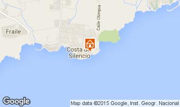Mapa Costa del Silencio Apartamentos 66629