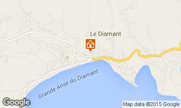 Mapa Le Diamant Apartamentos 97722