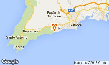 Mapa Lagos Apartamentos 84338