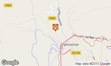Mapa Valmeinier Chalé 3441